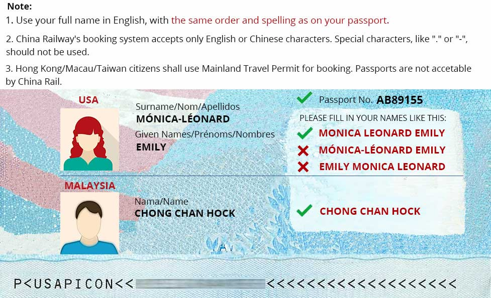 China Train Ticket Booking Policy Book China Train Ticket