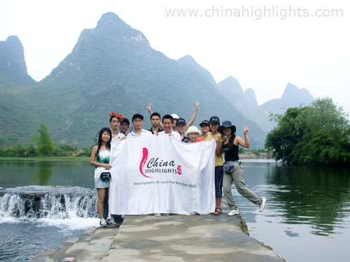 China Highlights 2007 New Staff in Yangshuo
