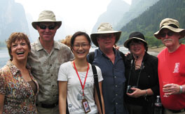China Highlights customers is with Grace Wang, one of the best tour guides at China Highlights.