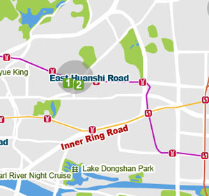 East Huanshi Road map