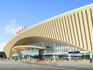 Chengdu South Railway Station, China Train