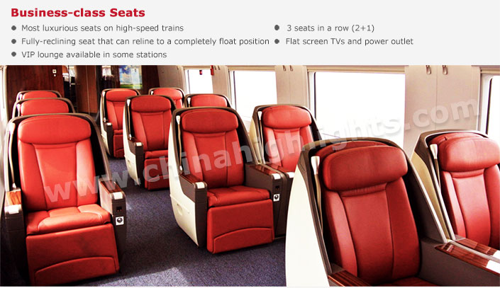 Size of First Class Seats