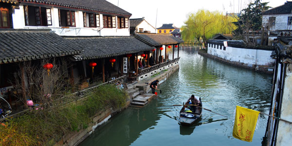 One-day Zhouzhuang and Jinxi Water Town Tour