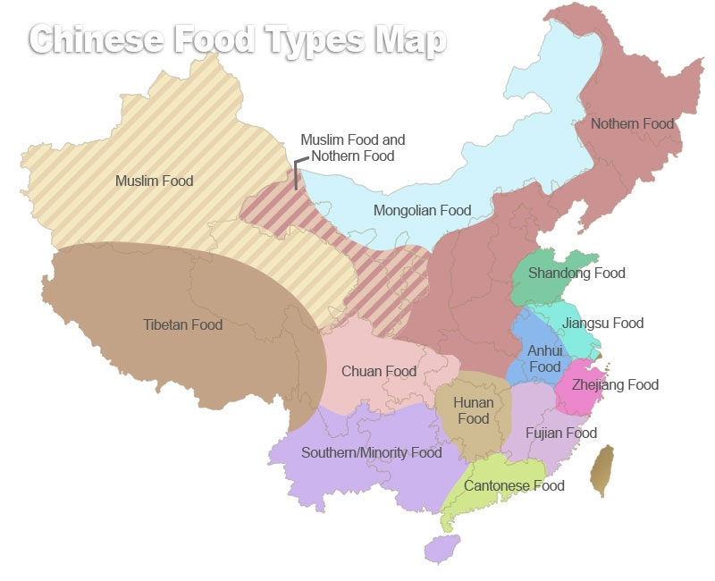 China regional cuisines chinese cooking styles from north for 8 types of chinese cuisine