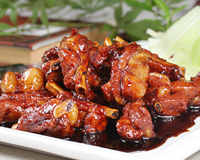 Sweet ans sour spare ribs
