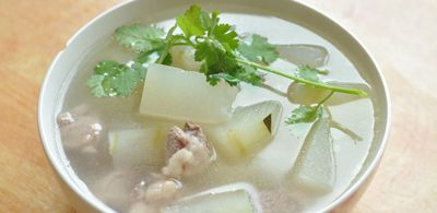 Winter Melon Soup with Pork Ribs