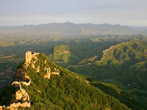 The winding Great Wall