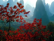 Scenery in Guilin in September