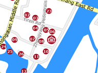 Map of Sheraton Guilin