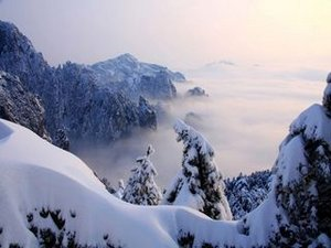 Huangshan Snowing Weather