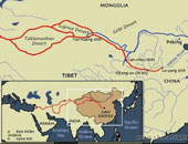 Ancient Silk Road Maps