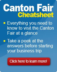 Canton Fair Cheatsheet