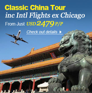 10-Day Beijing, Xi'an and Shanghai Tour with International flights