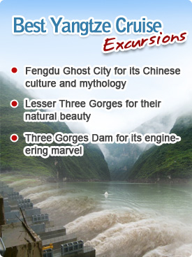 Best Yangtze Cruise Excursions
