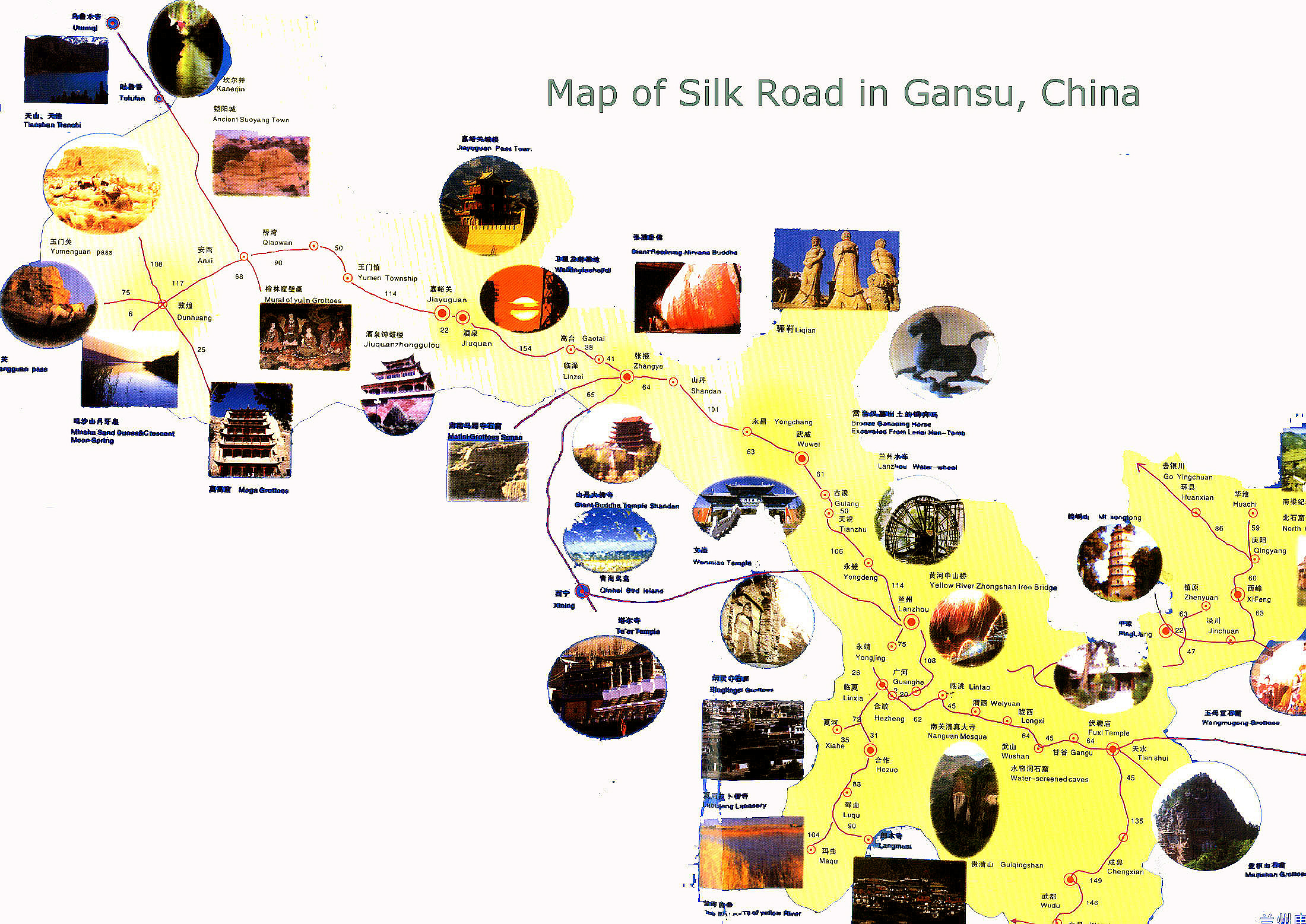 Silk Road Maps A Map Hepls Your Explore the Silk Road Adventure – Traveling Maps