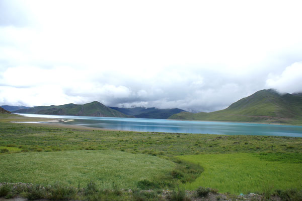The beautiful Yamdrok Lake