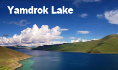 Yamdrok Lake is too beautiful to be real
