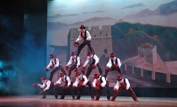 Acrobatic Show in Chaoyang Theatre