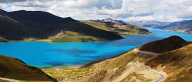 Tour combining Lhasa and Yomdrok Lake
