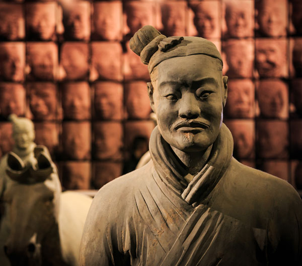 the Terracotta Warrior