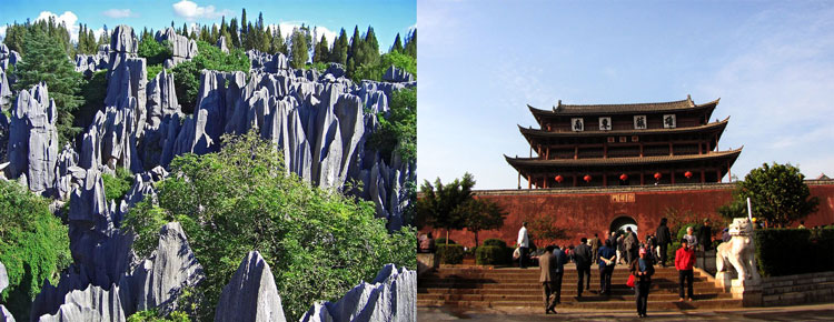 Stone Forest and Jianshui