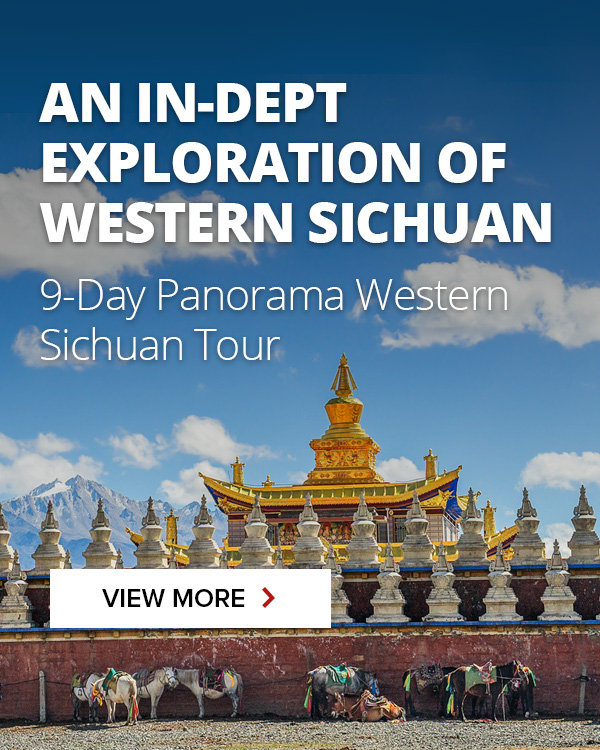 9-day western Sichuan tour