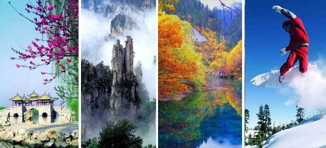 Four Seasons in China