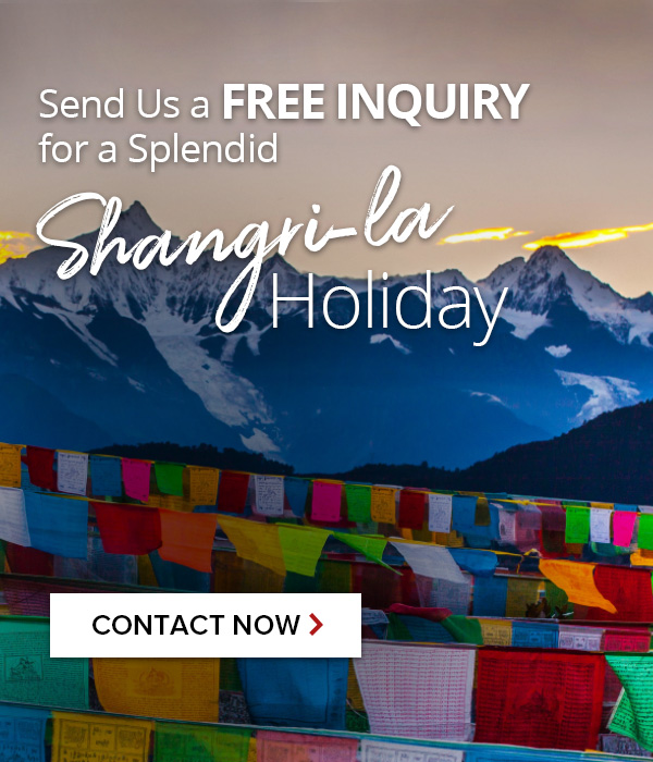 Contact us For Shangri-la tours