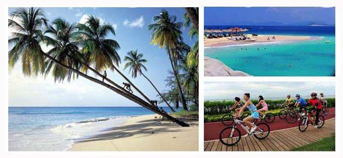 Cycling around Hainan Island