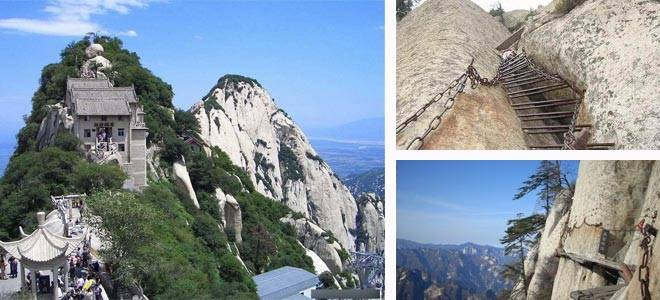 Mount Hua, Near Xian City