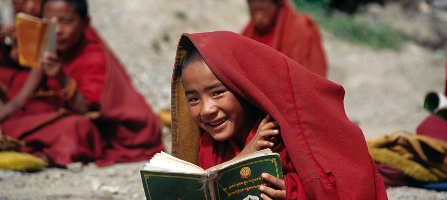 Young Mnks in Labrang Monastery