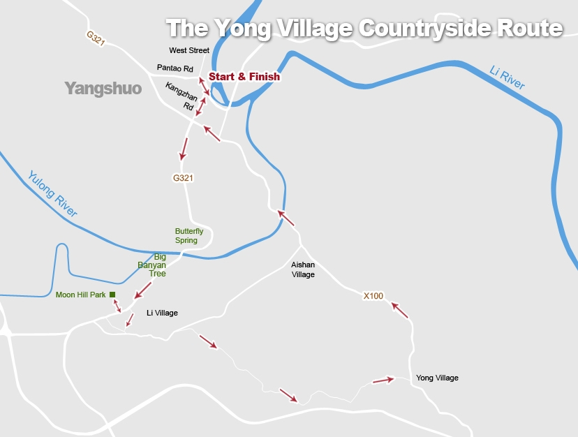 The Yong Village Countryside Cycling Route