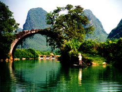 Yulong Bridge on Yulong River
