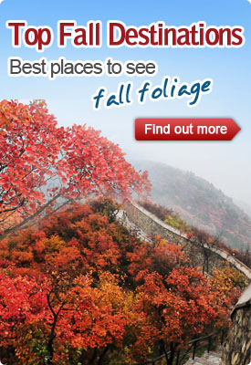 Top China fall destinations