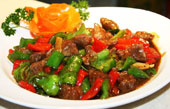 Black Pepper Beef Fillet