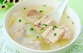 Winter Melon Soup with Prok Ribs