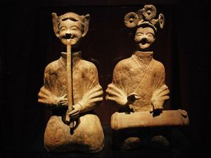 Musical Figures of Eastern Han Dynasty