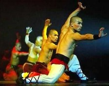 Kungfu Show at Red Theater in Beijing