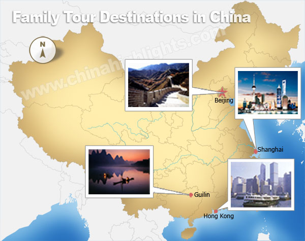 Top China family travel destinations