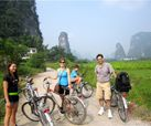 Biking in Yangshuo, Guilin