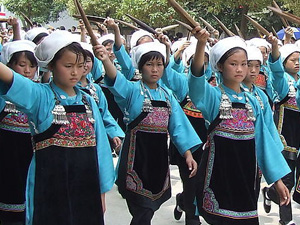 Costumes of Shui Women