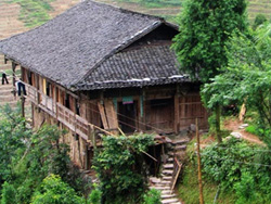 Architectural style of Yao Minority