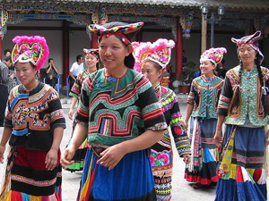 Costumes of Yi Minority