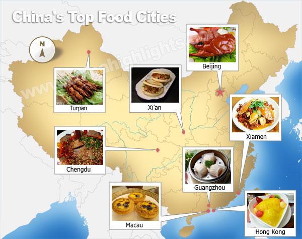 Beste kulinarische st dte chinas for 8 cuisines of china